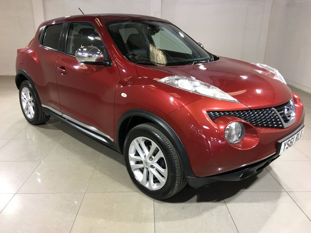 View our 2012 61 NISSAN JUKE 1.5 TEKNA DCI 5d 110 BHP