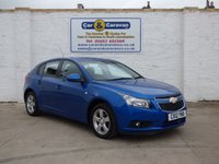 USED 2012 12 CHEVROLET CRUZE 1.6 LT 5d AUTO 124 BHP STUNNING AUTOMATIC