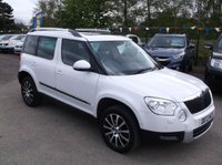 USED 2013 13 SKODA YETI 2.0 LAURIN AND KLEMENT TDI CR 5d 170 BHP 1 OWNER, FULL SERVICE HISTORY, STUNNING EXAMPLE THROUGHOUT, EXCELLENT SPEC,  DRIVES SUPERBLY
