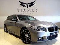 2014 BMW 5 SERIES 2.0 520D M SPORT TOURING 5d AUTO 188 BHP £18490.00