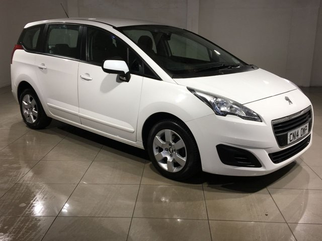 View our 2014 14 PEUGEOT 5008 1.6 HDI ACCESS 5d 115 BHP