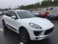USED 2014 14 PORSCHE MACAN 3.0 D S PDK 5d AUTO 258 BHP Panoramic roof, Sat Nav, BOSE, reversing camera, Carbon, heated seats, 20 inch plus much more.