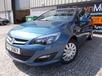 2013 VAUXHALL ASTRA 1.6 EXCLUSIV 5d AUTO 115 BHP £6995.00