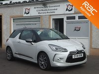 USED 2014 14 CITROEN DS3 1.6 DSTYLE TECHNO 3d 156 BHP Parking sensors,Cruise Control ,Bluetooth