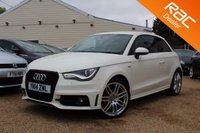 USED 2014 14 AUDI A1 1.4 TFSI S LINE BLACK EDITION 3d AUTO 138 BHP Xenons, Parking Aid, cruise control