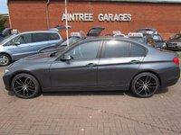 USED 2013 63 BMW 3 SERIES 2.0 320D EFFICIENTDYNAMICS BUSINESS 4d 161 BHP FULL LEATHER SAT NAV