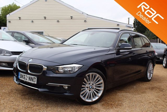 View our 2012 62 BMW 3 SERIES 3.0 330D LUXURY TOURING 5d AUTO 255 BHP