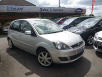USED 2008 58 FORD FIESTA 1.2 ZETEC BLUE 5d 75 BHP PLEASE CALL TODAY FOR TEST DRIVE ALL CARS AA INSPECTED
