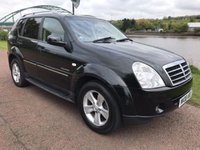 USED 2008 08 SSANGYONG REXTON 2.7 270 SPR 5d 184 BHP **UNWANTED PART EXCHANGE** SOLD AS SEEN