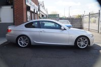 USED 2010 59 BMW 3 SERIES 2.0 320D M SPORT 2d 175 BHP FULL SERVICE HISTORY+XENON++REAR PDC