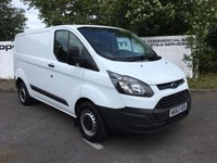 USED 2013 63 FORD TRANSIT CUSTOM 290 2.2 100 BHP L1 H1 - CHOICE OF 70 VANS