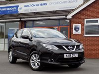 USED 2014 14 NISSAN QASHQAI 1.2 DIG-T ACENTA 5dr 113 BHP *ONLY 9.9% APR with FREE Servicing*