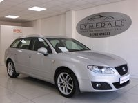 USED 2011 61 SEAT EXEO 2.0 SE TECH CR TDI 5d 141 BHP High Luxury! Full History With Sat Nav & Leather