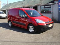 2014 CITROEN BERLINGO 1.6 625 ENTERPRISE L1 HDI 1d 74 BHP 3 SEATER £6950.00