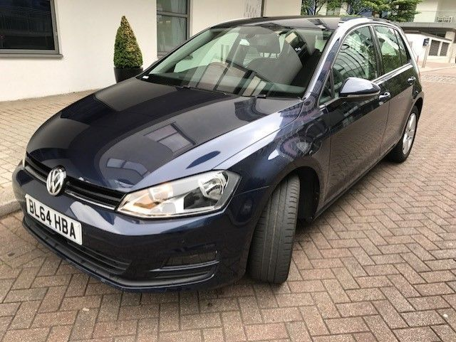2015 64 VOLKSWAGEN GOLF 1.6 MATCH TDI BLUEMOTION TECHNOLOGY DSG 5d AUTO 103 BHP