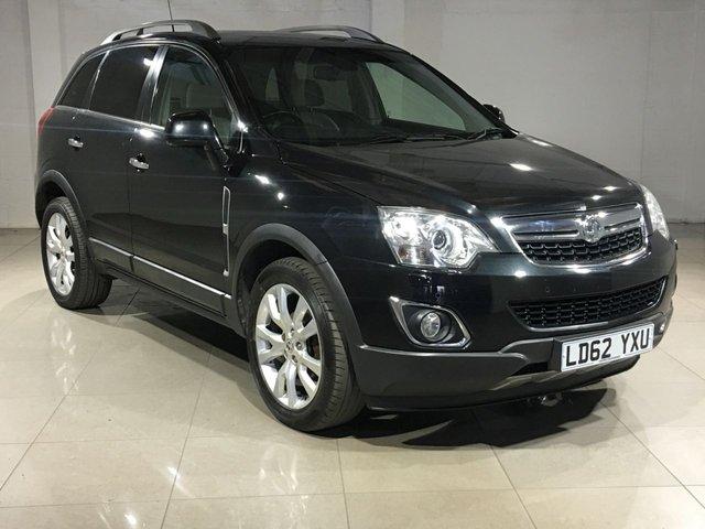 View our 2012 62 VAUXHALL ANTARA 2.2 SE NAV CDTI 4WD 5d AUTO 161 BHP