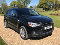 USED 2011 61 MITSUBISHI ASX 1.8 DI-D 4 5d 147 BHP SATNAV, HEATED LEATHER, BLUETOOTH, PARK ASSIST