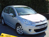 USED 2014 64 CITROEN C3 1.2 VTR PLUS 5d  128 POINT AA INSPECTED & FULL SERVICE HISTORY