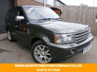 USED 2008 58 LAND ROVER RANGE ROVER SPORT 2.7 TDV6 SPORT HSE 5d AUTO 188 BHP ***TIMING BELT REPLACED & NEW HAND BRAKE UNIT FITTED***