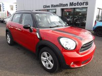 USED 2015 MINI COUNTRYMAN 1.6 COOPER 5d 122 BHP REG 31/12/2015 Red Met with Black Roof