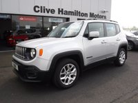 USED 2016 66 JEEP RENEGADE 1.6 M-JET LONGITUDE 5d 118 BHP Sat/Nav & Bluetooth