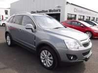 USED 2013 VAUXHALL ANTARA 2.2 CDTi Exclusiv SUV 5dr Diesel Manual AWD (start/stop) (170 g/km, 161 bhp) 4x4 September 2013