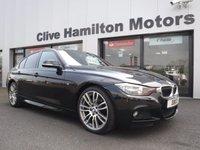 """USED 2015 64 BMW 3 SERIES 3.0 330D M SPORT 4d AUTO 255 BHP SAT NAV & 19"""" ALLOY WHEELS"""