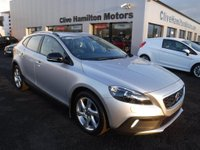 USED 2015 64 VOLVO V40 1.6 D2 CROSS COUNTRY LUX NAV 5d 113 BHP FULL BLACK LEATHER INTERIOR