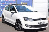 USED 2012 12 VOLKSWAGEN POLO 1.2 SEL TSI 3d 103 BHP