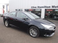 USED 2016 66 TOYOTA AVENSIS 1.6 D-4D BUSINESS EDITION 4d 110 BHP NAV & CAMERA NAVIGATION, REVERSE CAMERA