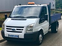 2009 FORD TRANSIT 2.4 RWD 350 MWB DRW TIPPER 115BHP 6 SPEED £6495.00
