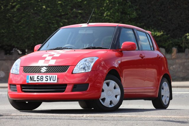 2008 58 SUZUKI SWIFT 1.3 GL 5d 91 BHP