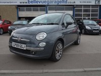 USED 2010 59 FIAT 500 1.4 C LOUNGE 3d 99 BHP CUTE LITTLE CONVERTABLE