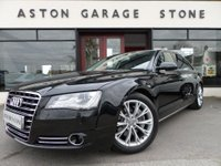 USED 2013 13 AUDI A8 3.0 L TDI SE EXECUTIVE LWB AUTO 201 BHP **HUGE SPEC** ** F/A/S/H * NAV * CAMERA * NIGHT VISION **