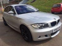 2007 BMW 1 SERIES 2.0 118D M SPORT 3d 141 BHP £4500.00