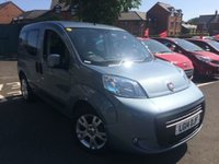 USED 2014 14 FIAT QUBO 1.2 MULTIJET MYLIFE DUALOGIC 5d AUTO 75 BHP £20 ROAD TAX!!..AUTOMATIC WITH ALLOY WHEELS!!..EXCELLENT FUEL ECONOMY!!..LOW CO2 EMISSIONS..FULL FIAT SERVICE HISTORY!!..ONLY 16460 MILES FROM NEW!!