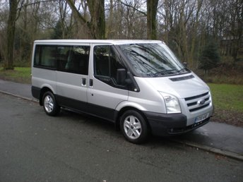 2010 FORD TRANSIT 2.2 280 LIMITED TOURNEO 8 STR 5d 115 BHP £6490.00