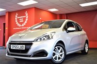 USED 2015 65 PEUGEOT 208 1.0 ACTIVE 3d 68 BHP