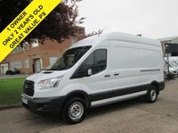 USED 2015 15 FORD TRANSIT 2.2 350 LWB HIGH ROOF 125 BHP. NEW SHAPE. 1 OWNER. FINANCE £201 P/MONTH. AMAZING VALUE. BIG CHOICE. PX