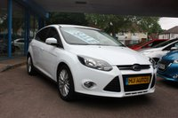 USED 2012 62 FORD FOCUS 1.0 ZETEC Turbo ECO-Boost 5dr Lovely Ford Focus In White, With Very Low Miles, Economical Too, Finance Available to Suite Your Budget.