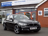 USED 2013 63 BMW 1 SERIES 2.0 116D SPORT 5dr 114 BHP *ONLY 9.9% APR with FREE Servicing*