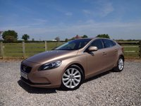 USED 2013 63 VOLVO V40  1.6 TD D2 SE Lux 5dr (start/stop) 1 OWNER FROM NEW+FULL VOLVO DEALER SERVICE HISTORY