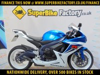 USED 2012 12 SUZUKI GSXR600 L1  GOOD & BAD CREDIT ACCEPTED, OVER 500+ BIKES