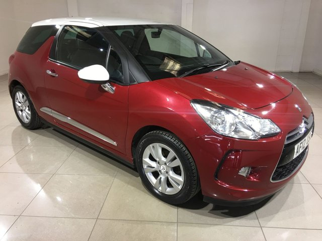 View our 2012 12 CITROEN DS3 1.6 E-HDI DSTYLE 3d 90 BHP