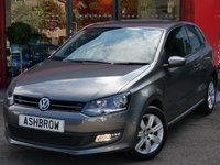 2014 VOLKSWAGEN POLO 1.2 MATCH EDITION 3d 60 BHP £6233.00