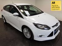 USED 2014 64 FORD FOCUS 1.6 ZETEC S TDCI 5d 113 BHP FSH-NAV-BLUETOOTH-PARKING SENSORS