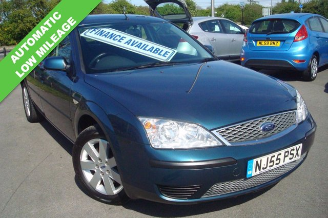 2005 55 FORD MONDEO 2.0 LX 16V 5d AUTO 145 BHP LOW MILEAGE AUTOMATIC