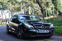 USED 2014 63 MERCEDES-BENZ E CLASS 3.0 E400 AMG SPORT PLUS 2d AUTO 333 BHP