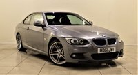 USED 2011 61 BMW 3 SERIES 2.0 320D M SPORT 2d AUTO 181 BHP + ONLY 1 PREV OWNER + FULL SERVICE HISTORY +  APPROVED DEALER