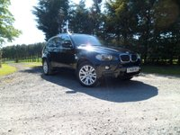 USED 2008 08 BMW X5 BLACK BMW X5 3.0D M SPORT 5S AUTO OVER £8K EXTRAS. SAT NAV. UNUSED REMOVABLE TOW BAR. PREMIUM LEATHER. STUNNING